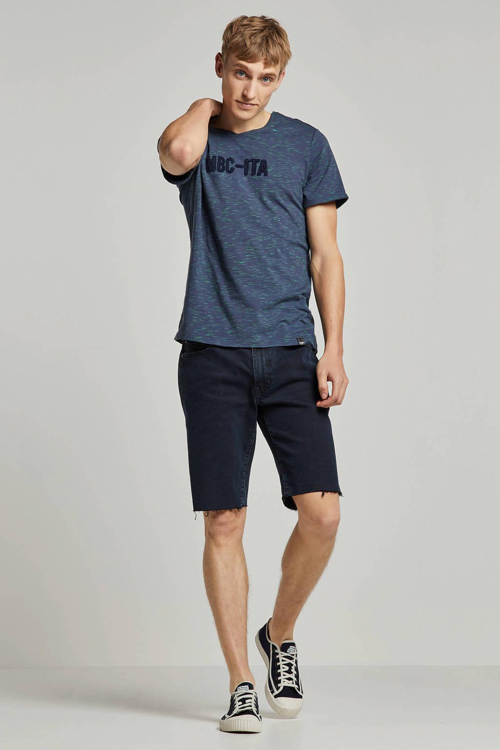 Twinlife T-shirt, Blauw/groen