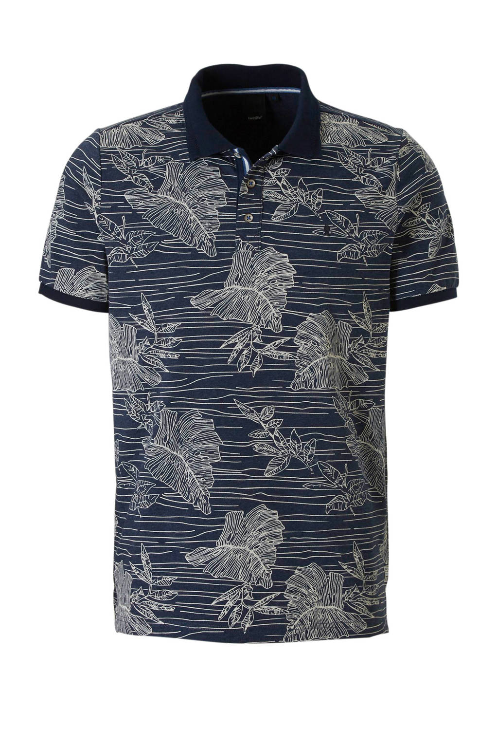 Twinlife polo, Donkerblauw