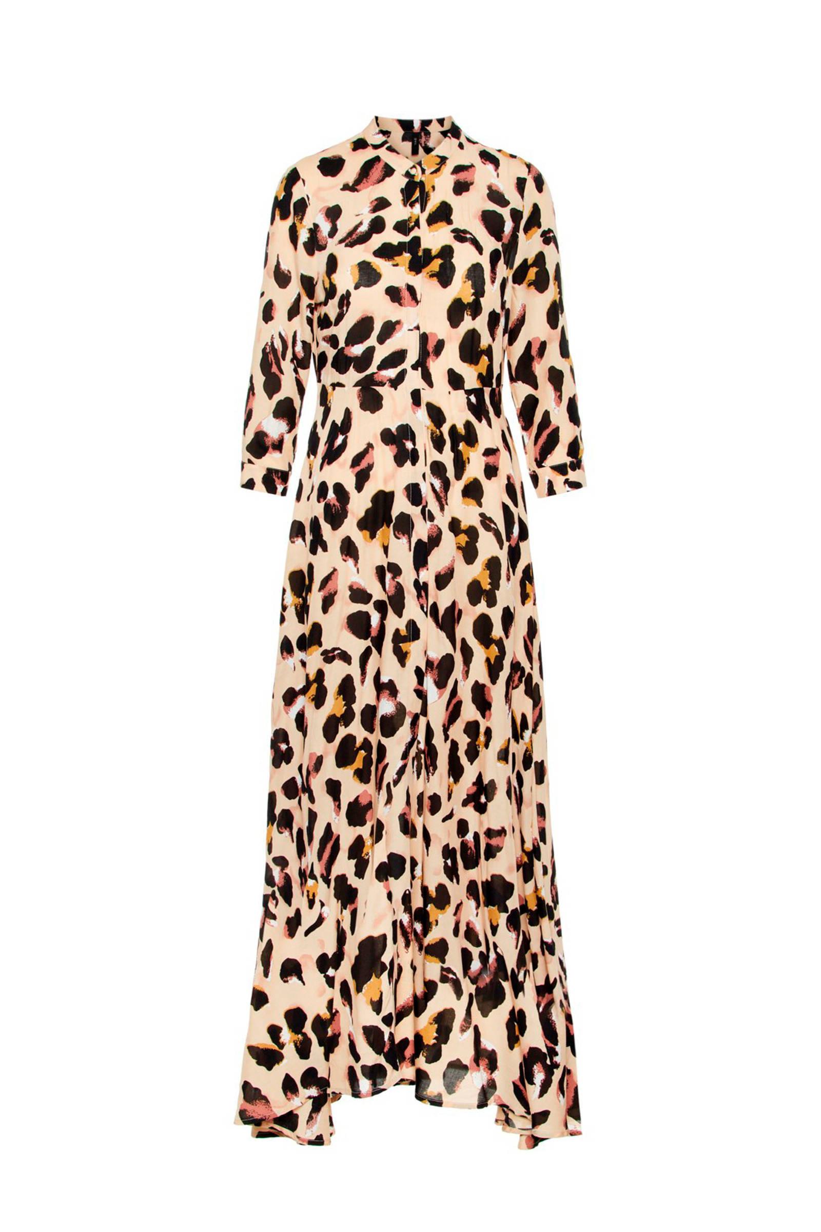 maxi jurk met mouwtje