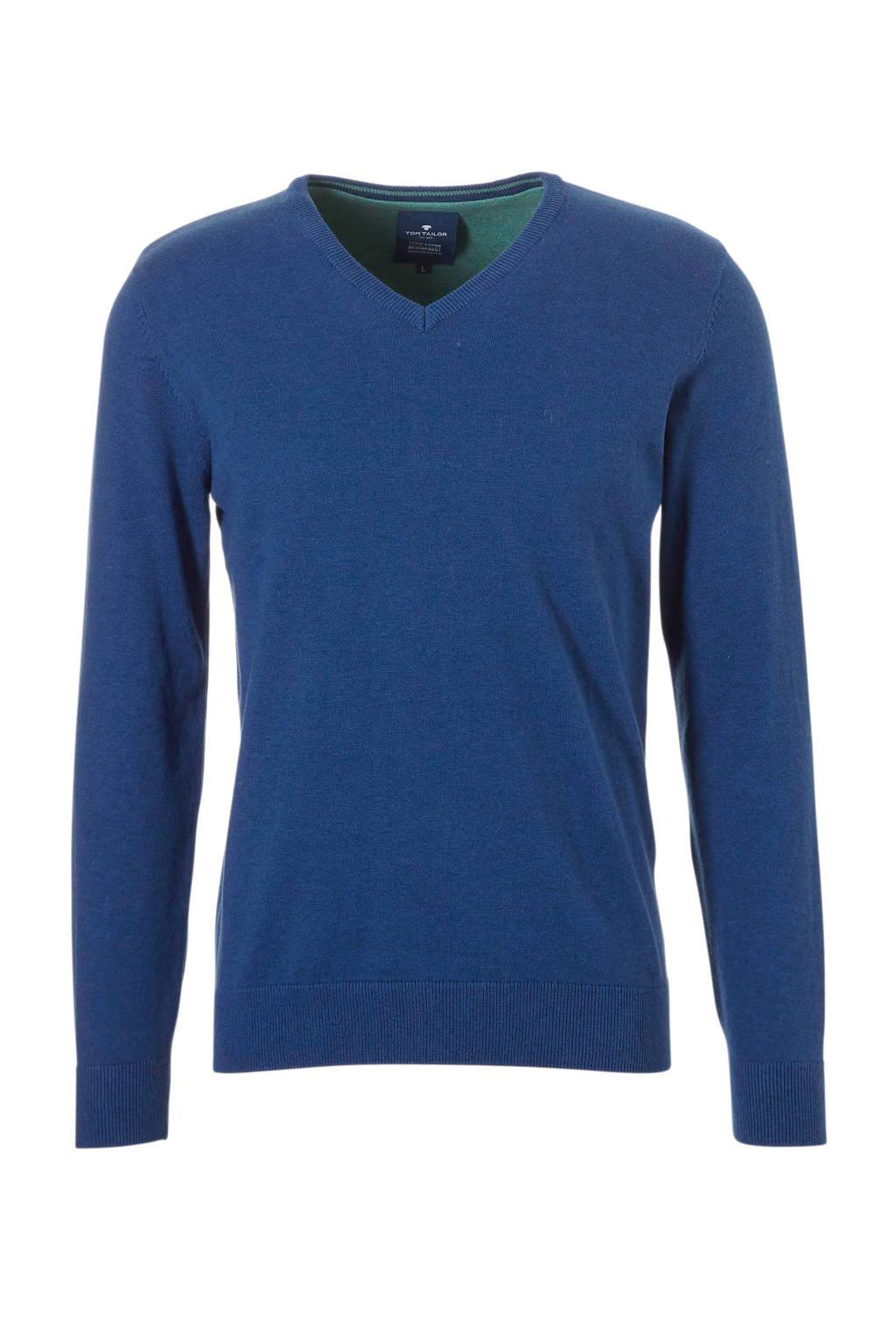 Tom Tailor Denim trui, Donkerblauw