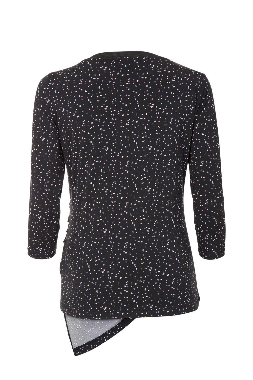 Print Promisst All Met Zwart Over shirt qw1OgA