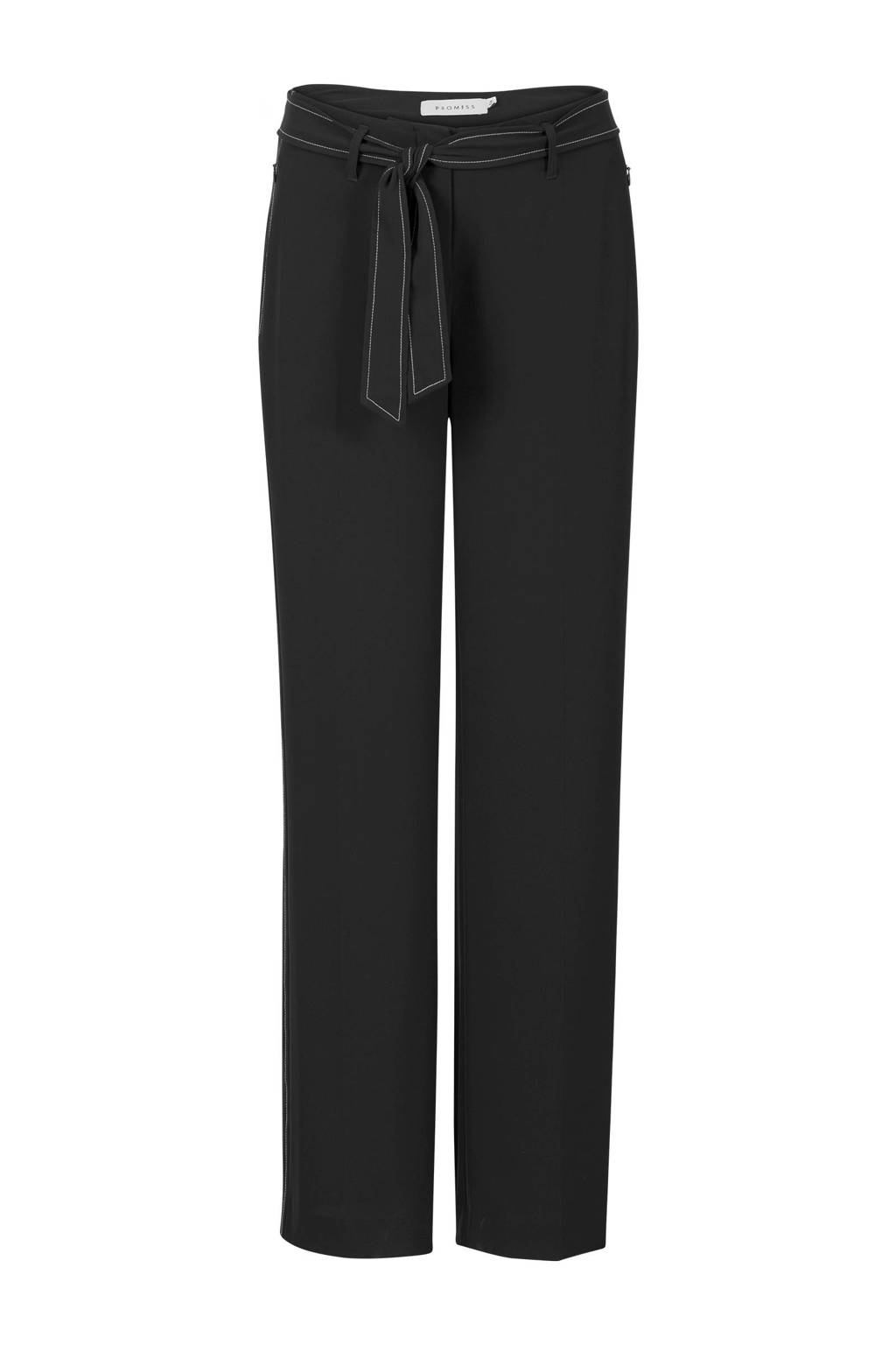 Promiss pantalon zwart, Zwart