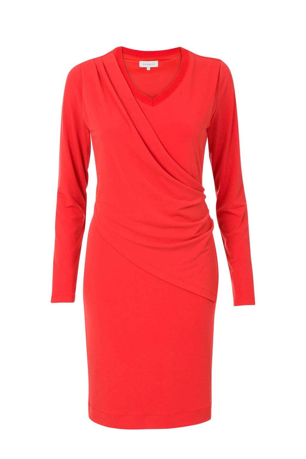Promiss jurk rood, Rood