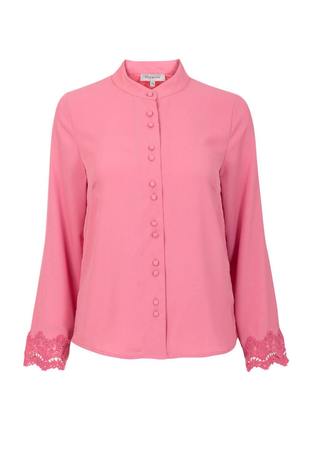 Promiss blouse oudroze, Roze
