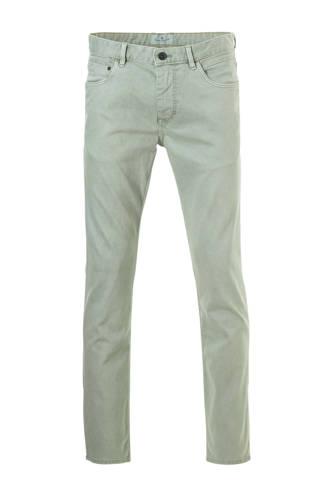 slim fit jeans groen