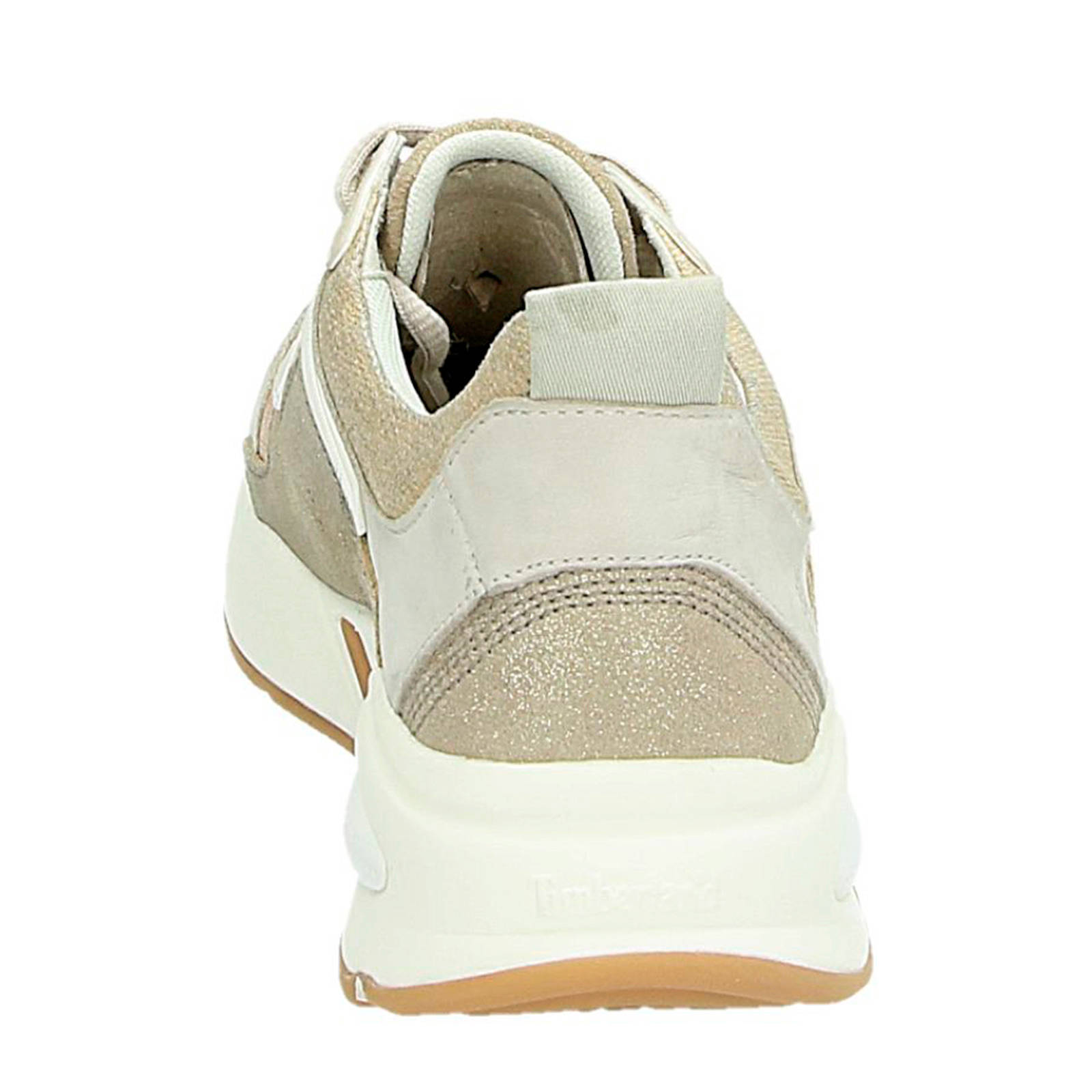 d2e00fbfb0b Timberland Delphiville leren chunky sneakers goud | wehkamp