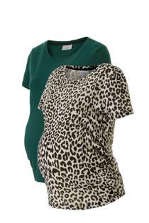 C&A Yessica zwangerschaps T-shirt - set van 2