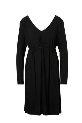 Yessica zwangerschap jurk zwart