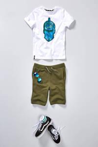 VANS YT Ward  sneakers zwart, Zwart/wit