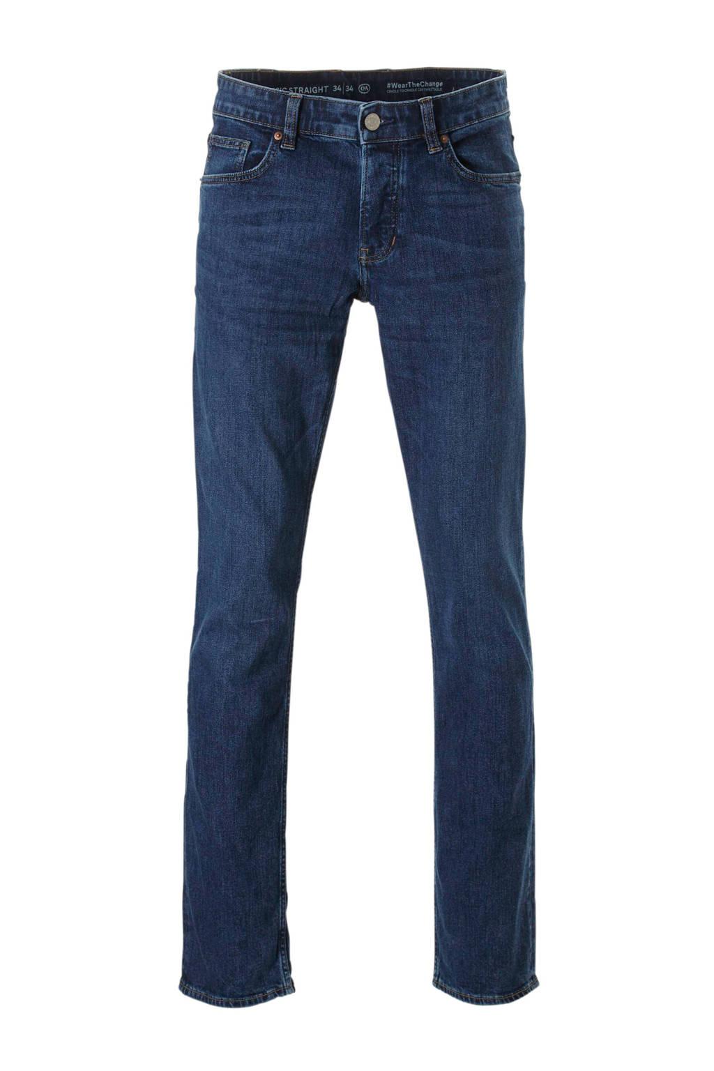 C&A The Denim  straight straight fit jeans, Dark denim