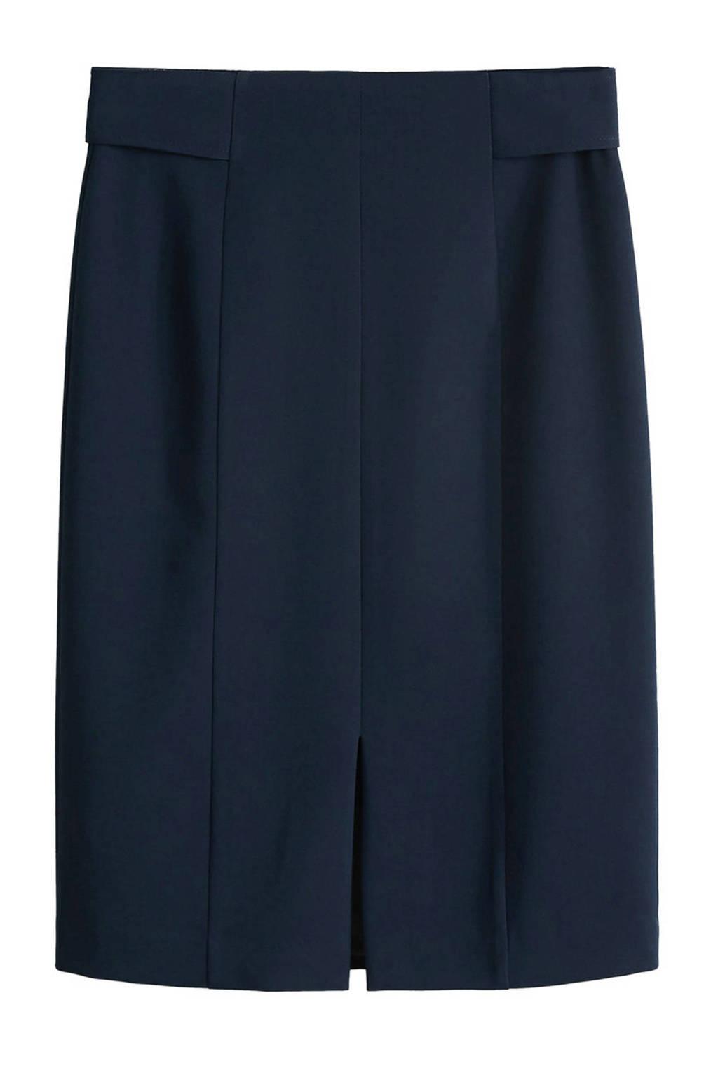 Mango rok donkerblauw, Marineblauw