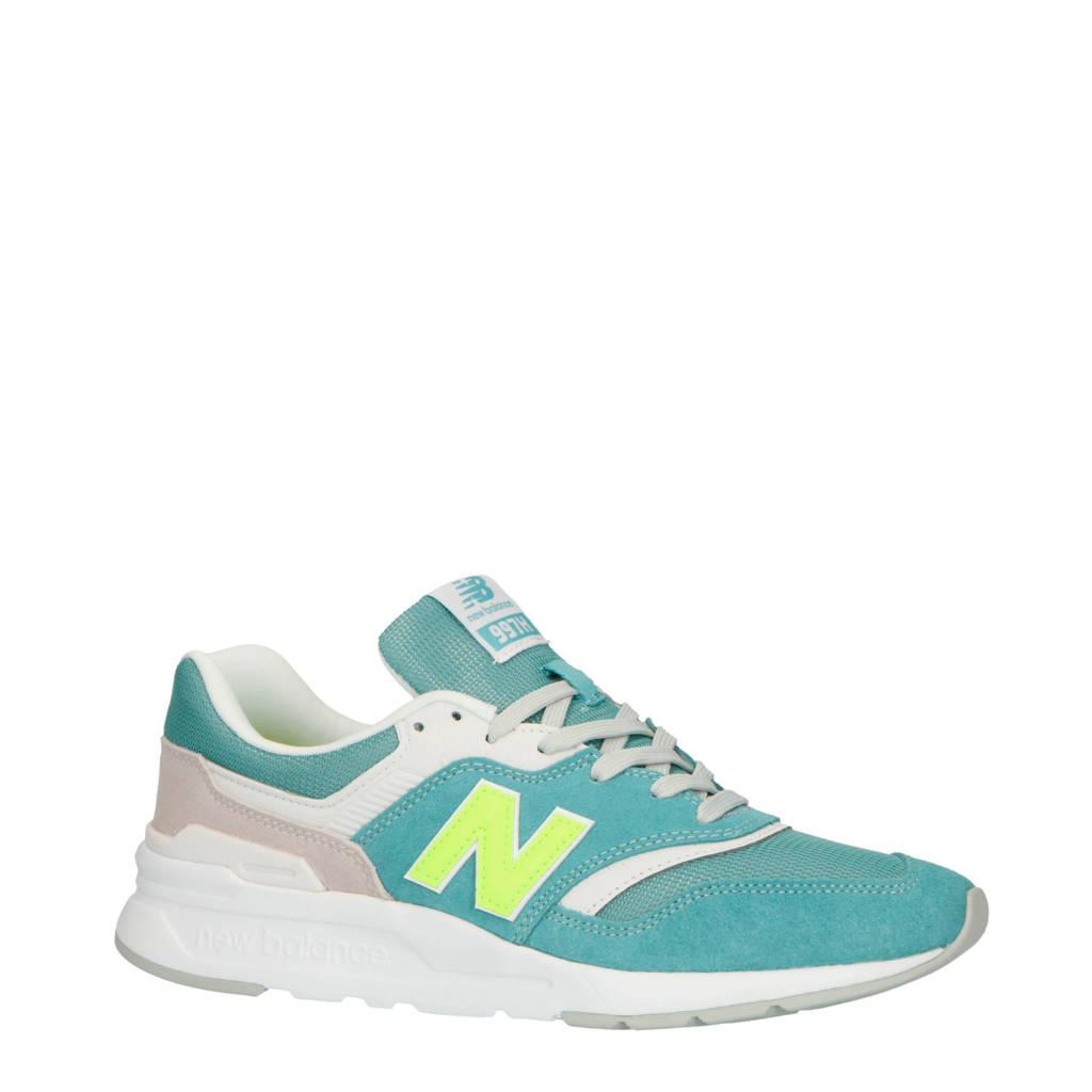 New Balance  997H sneakers blauw, Blauw/neon/grijs