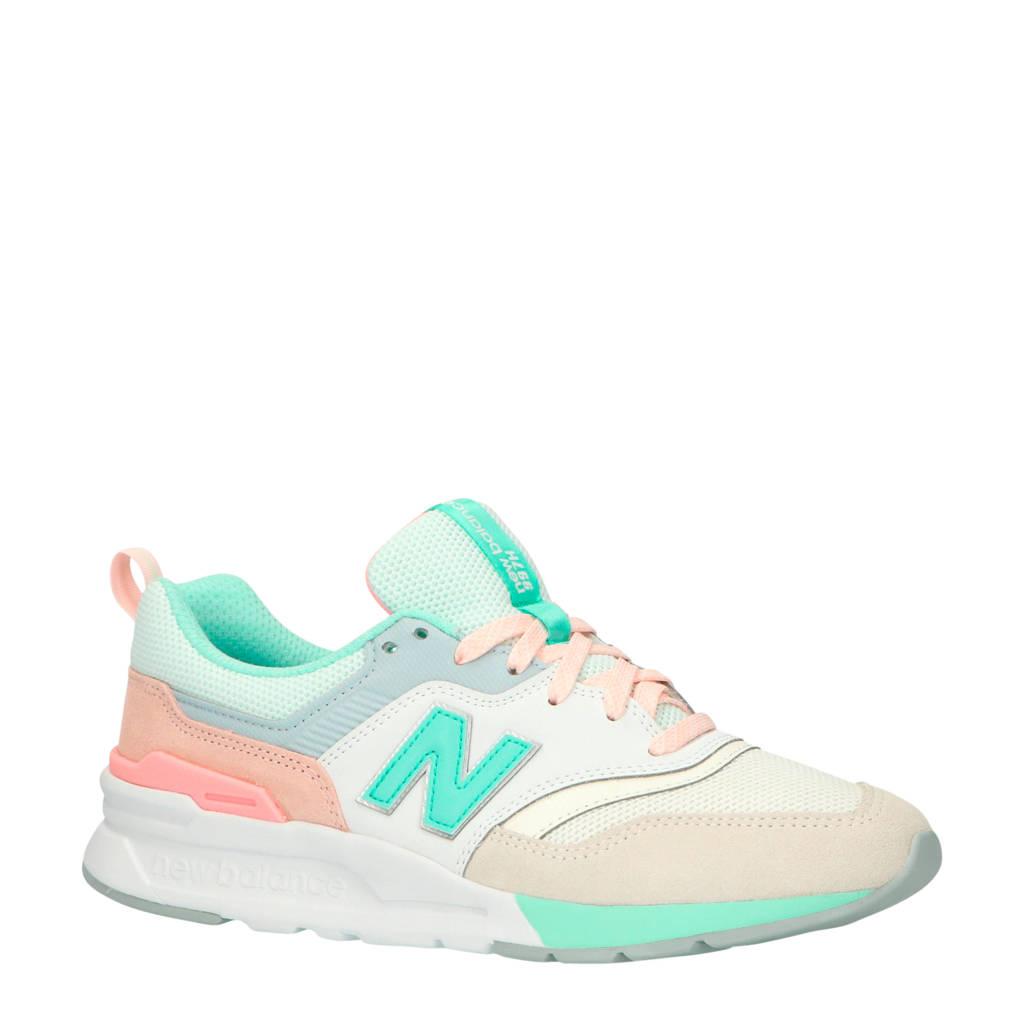 New Balance 997 sneakers ecru/mint/lichtroze, Ecru/mint/lichtroze