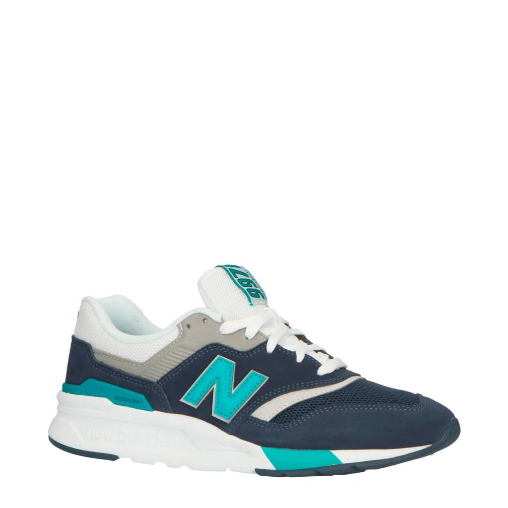 New Balance 997 sneakers blauw/grijs/groen, Donkerblauw/grijs/groen