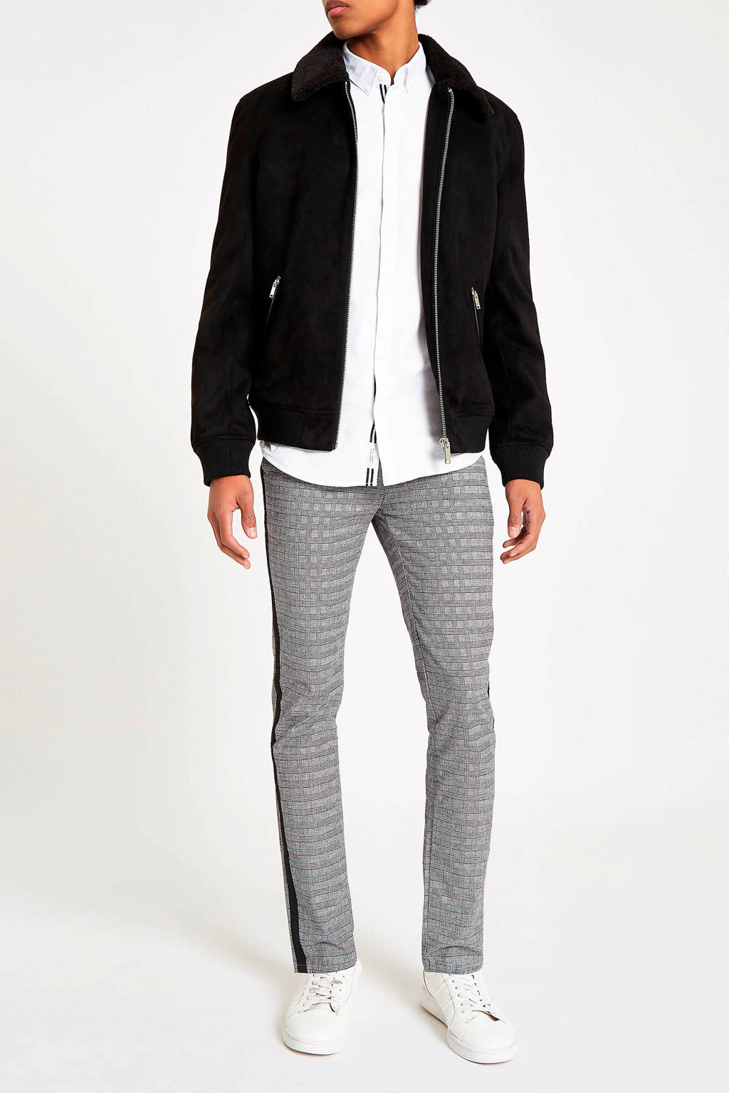 River Island overhemd wit, Wit