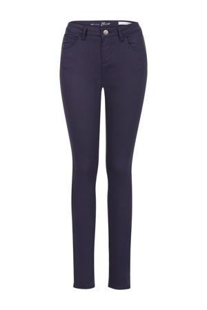 slim fit broek Elise 36 inch donkerblauw