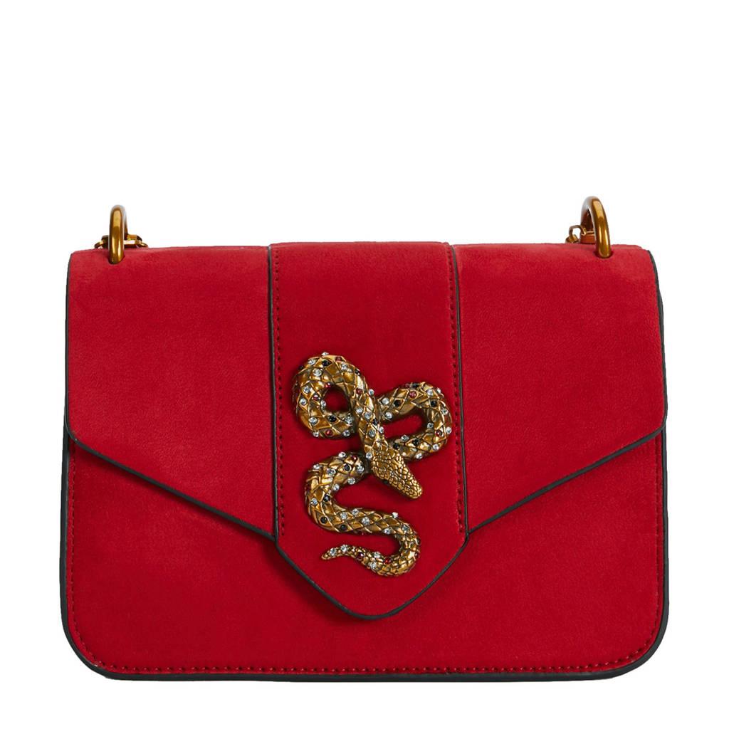 Parfois   crossbody tas rood, Rood