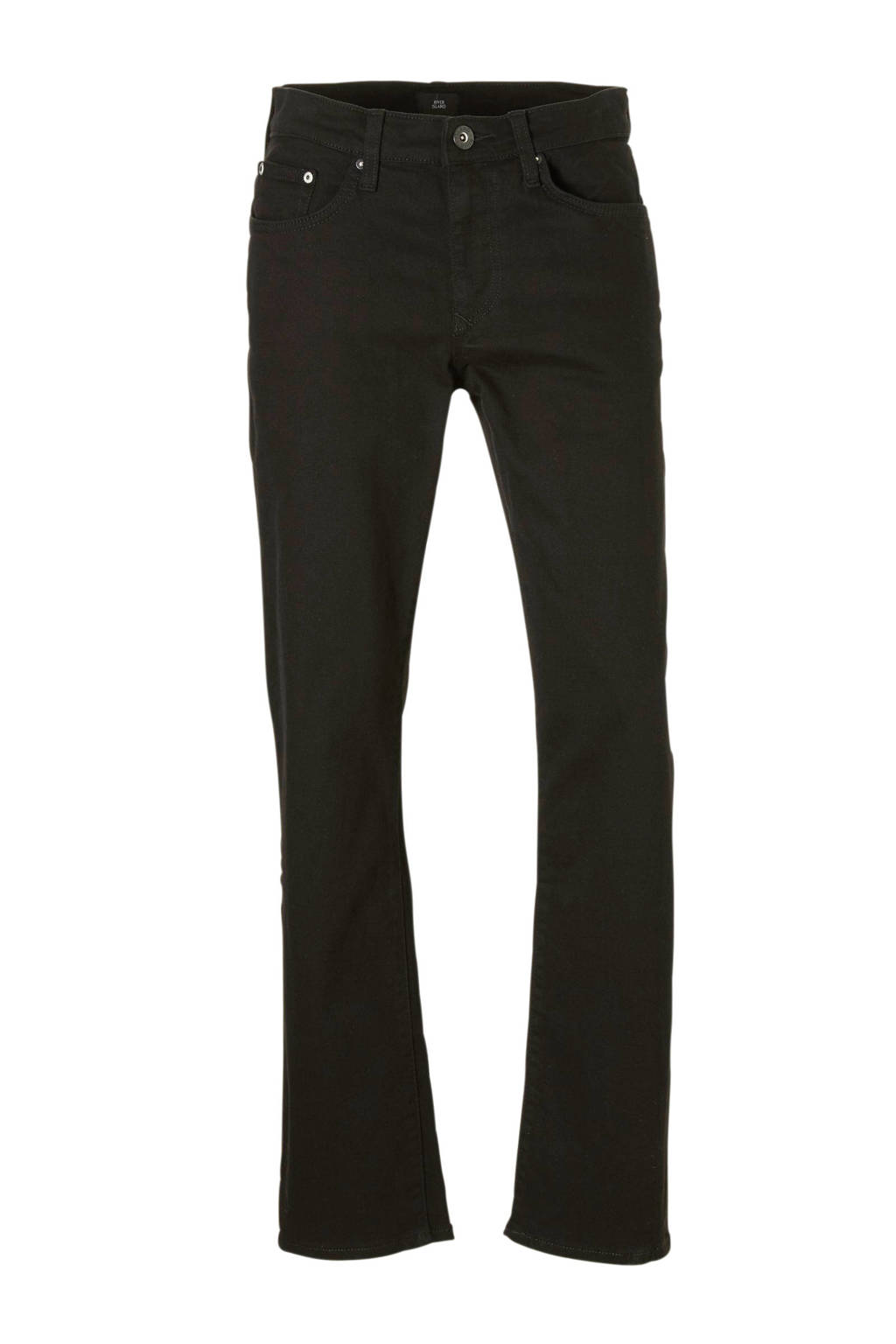 River Island straight fit jeans, Zwart