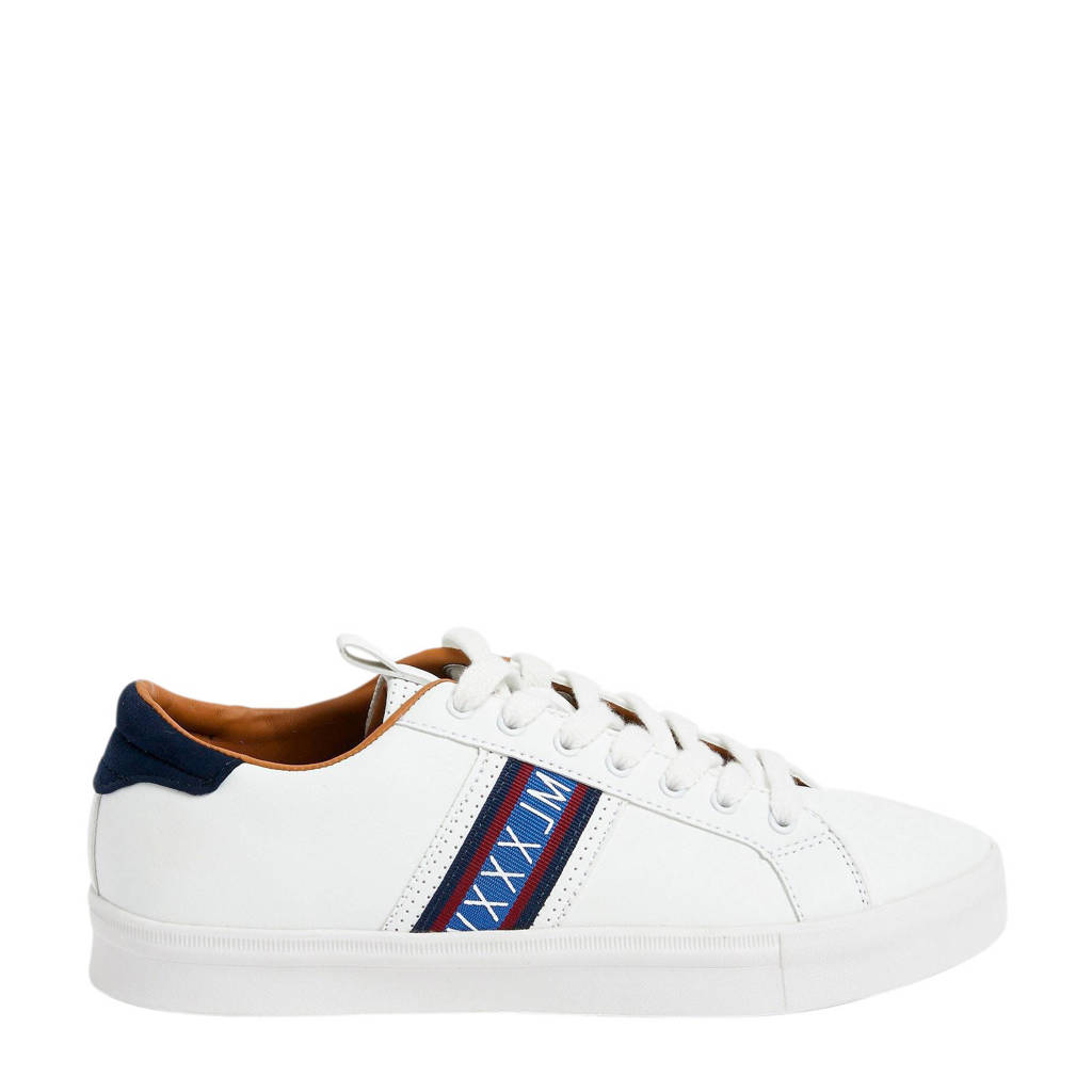 River Island  sneakers wit, Wit/blauw