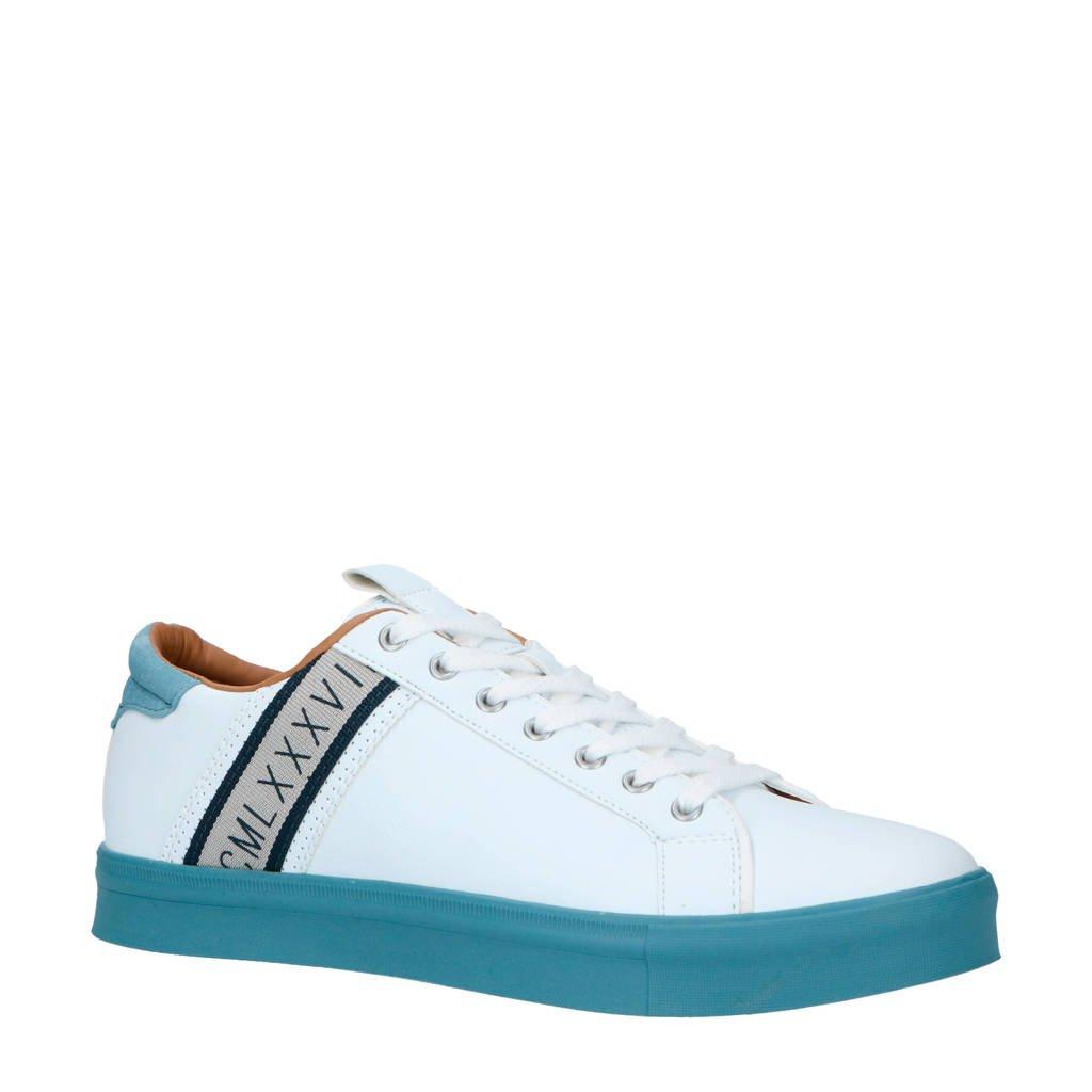 River Island  sneakers wit/blauw, Wit/blauw