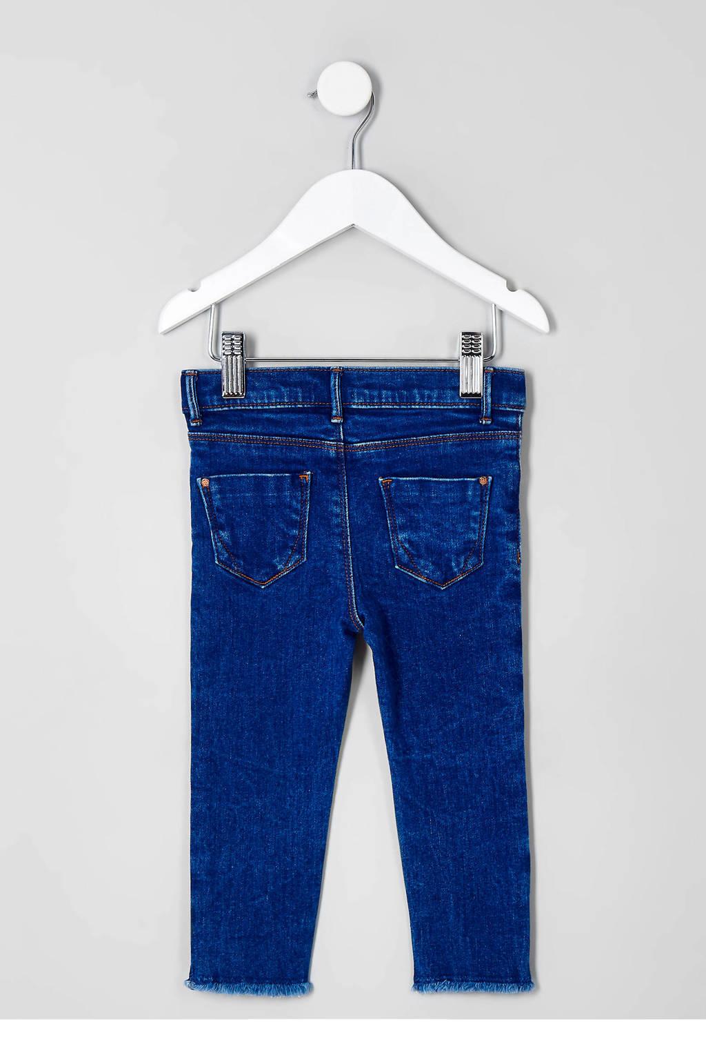River Island slim fit jeans blauw, Blauw