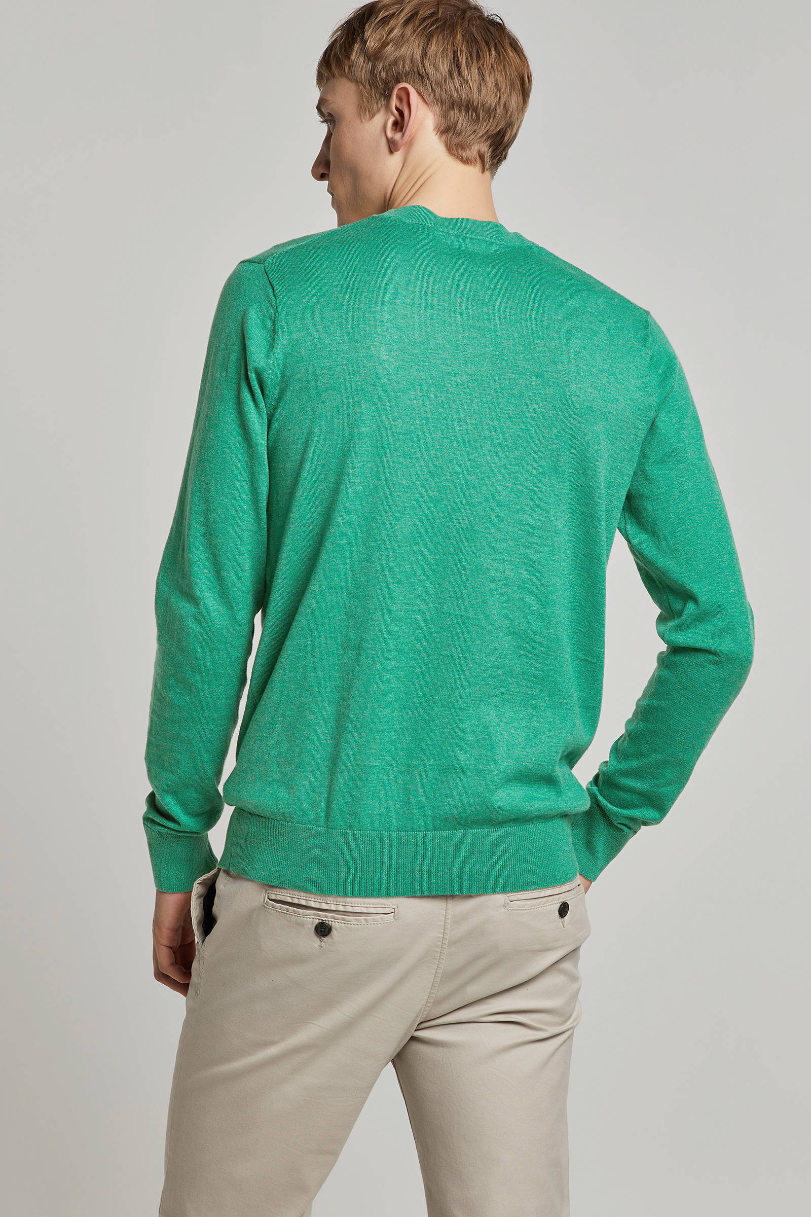 fc42742dde5 gemêleerde trui groen