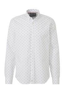 Scotch & Soda regular fit overhemd met print