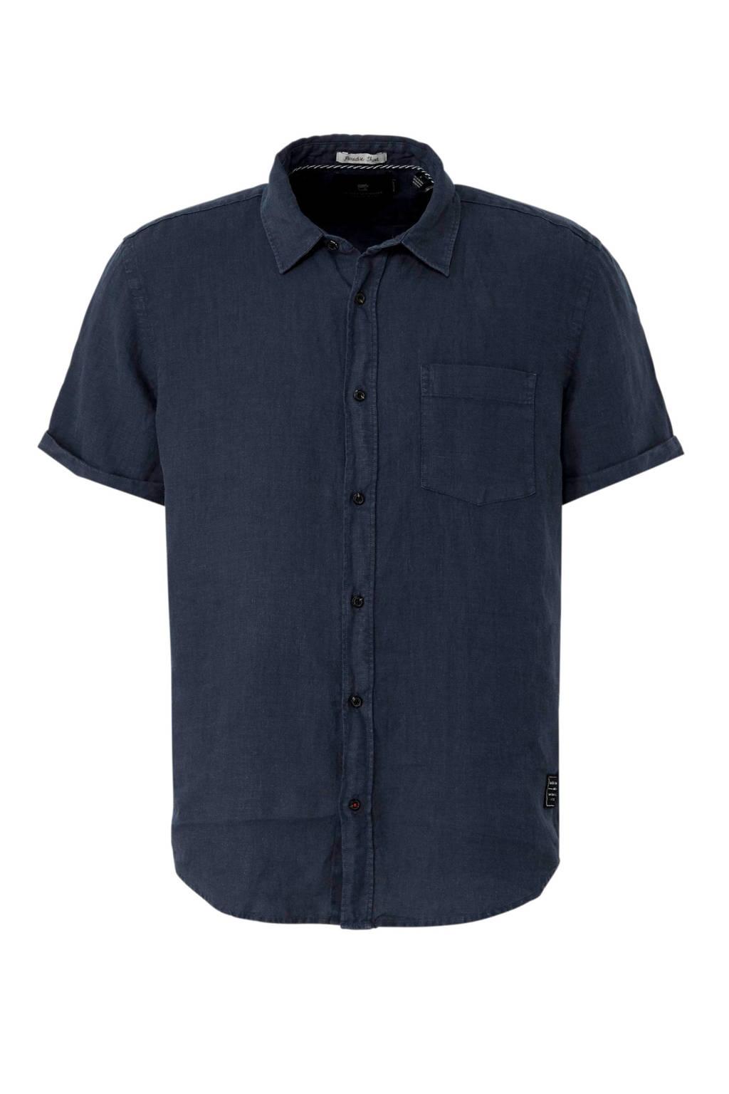 Scotch & Soda overhemd blauww, Donkerblauw