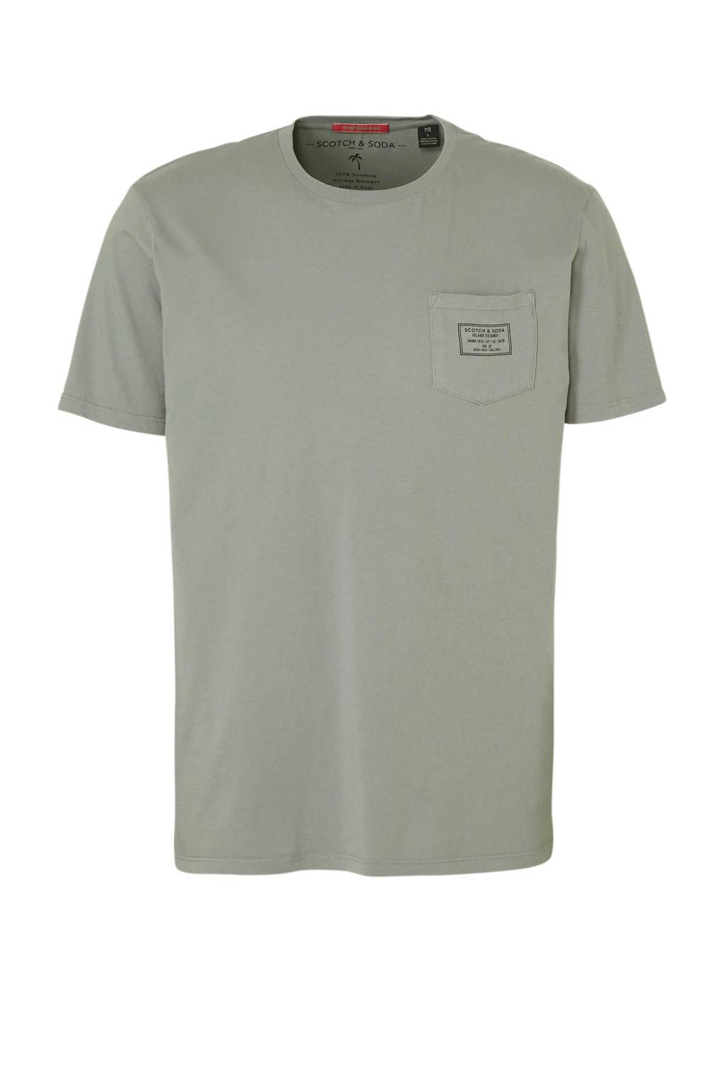 Scotch & Soda T-shirt, Lichtgrijs