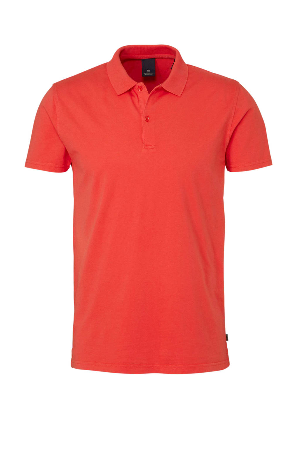 Scotch & Soda regular fit jersey polo, Rood