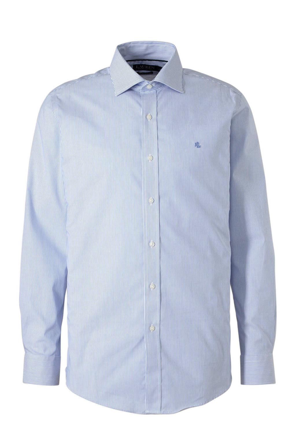 POLO Ralph Lauren gestreept regular fit overhed blauw, Blauw/wit