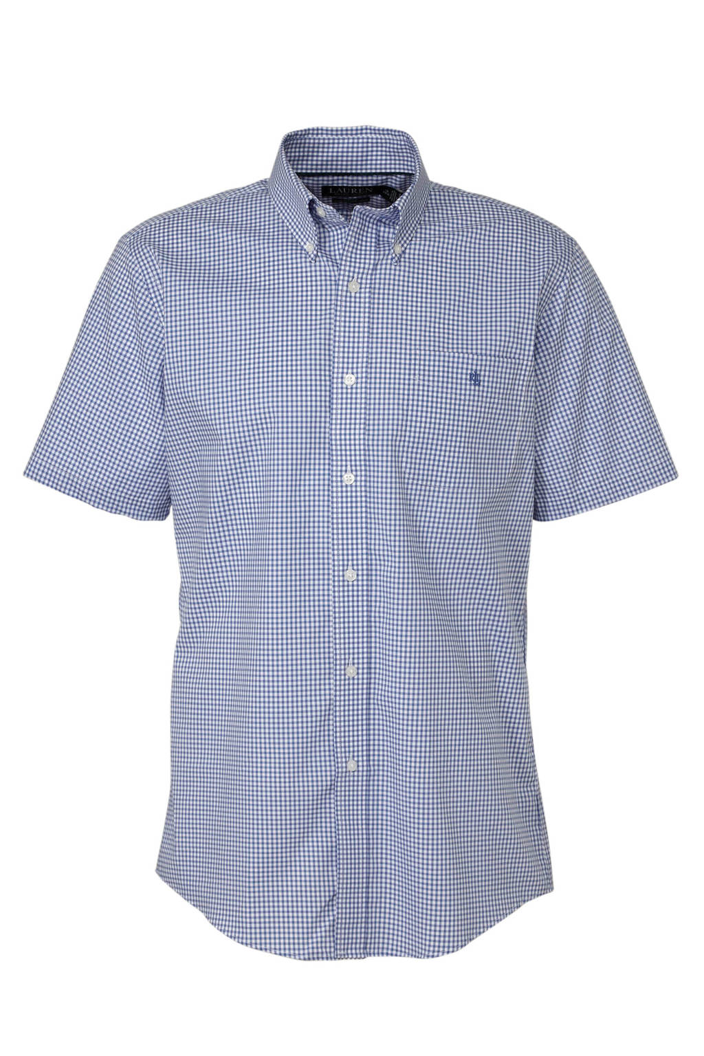 POLO Ralph Lauren geruit regular fit overhemd blauw, Blauw