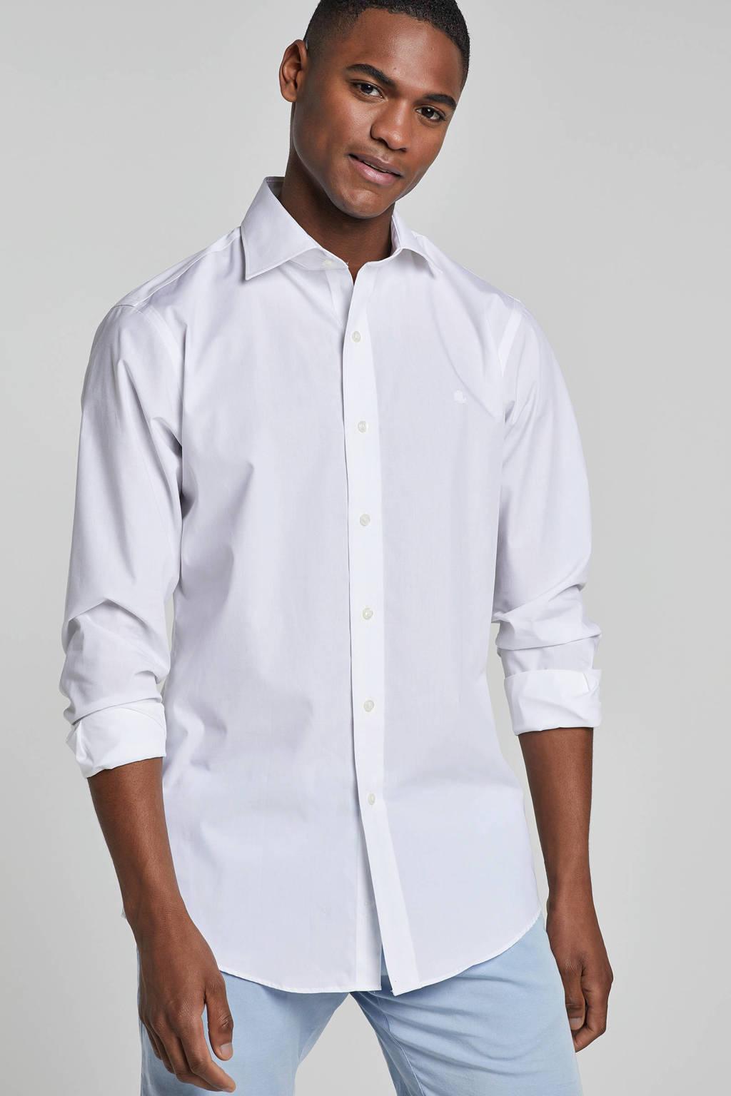 POLO Ralph Lauren slim fit overhemd Warren wit, Wit