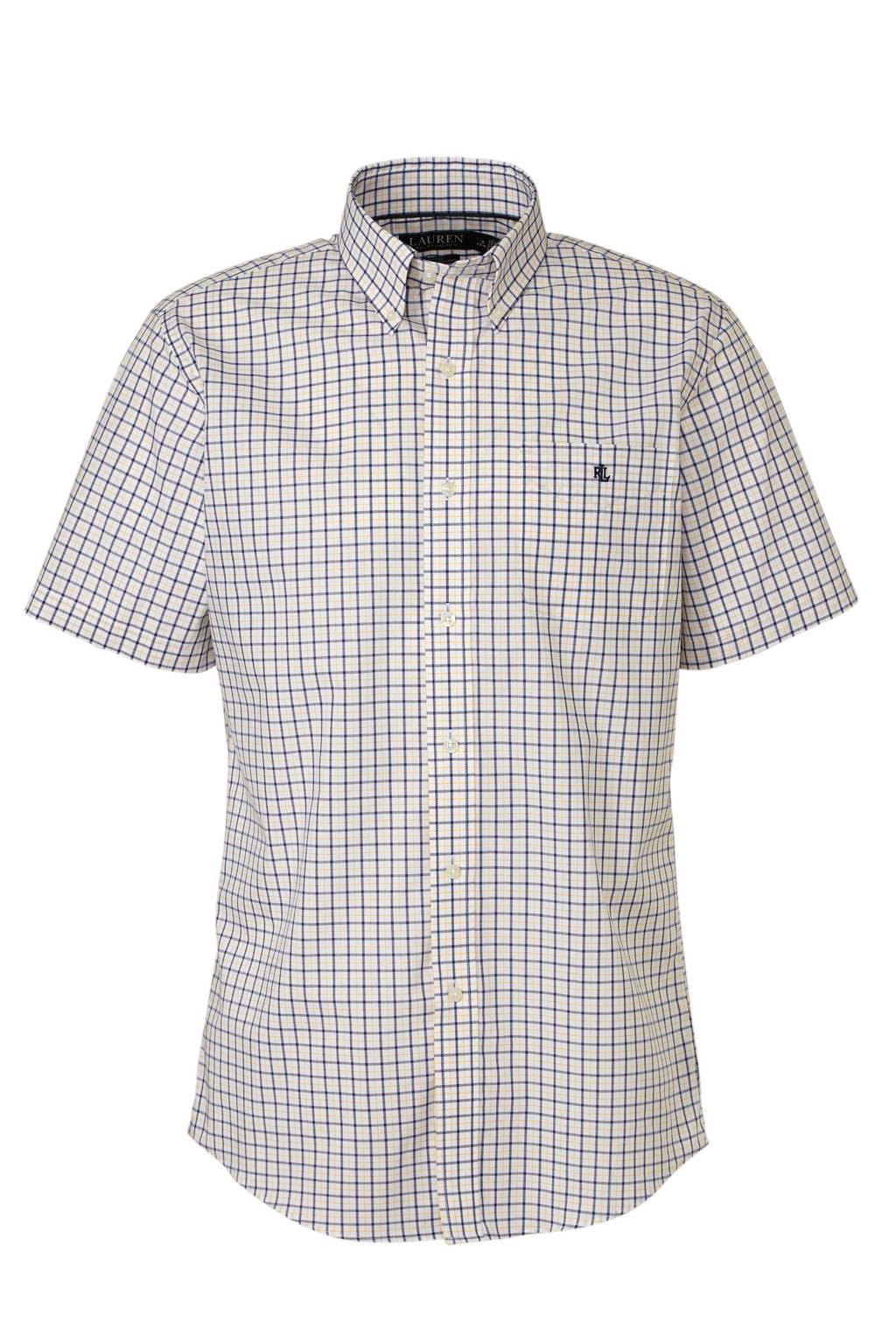 POLO Ralph Lauren regular fit overhemd, Wit/blauw/geel