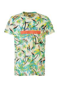 Scotch & Soda T-shirt met all over print groen/multi-kleuren, Groen/multi-kleuren