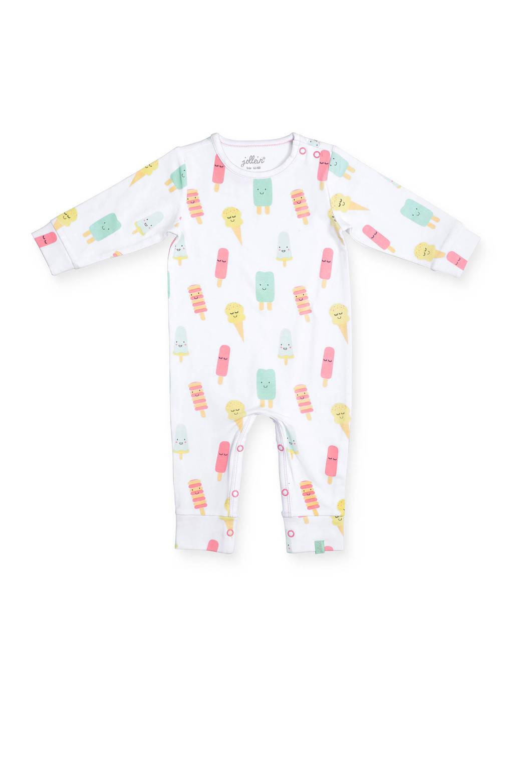 Jollein newborn baby boxpak, wit/roze/mint