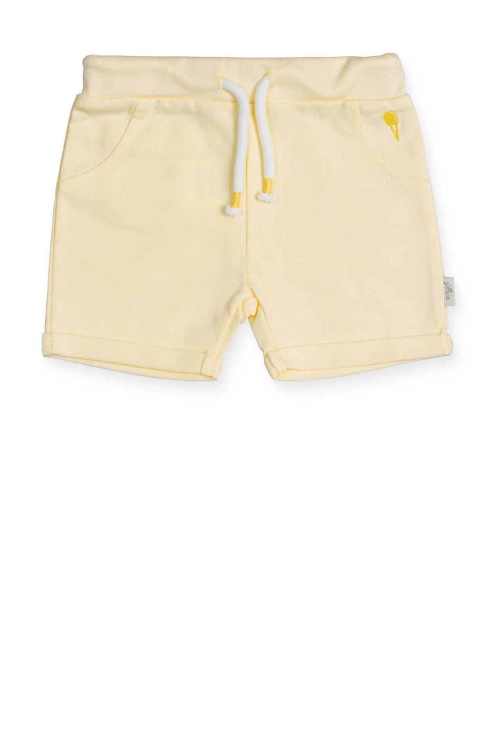 Jollein baby sweatshort geel, Geel