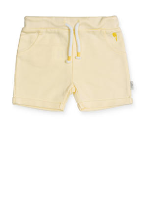 baby sweatshort geel
