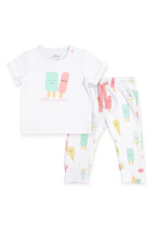 baby T-shirt + broek Happy icecream