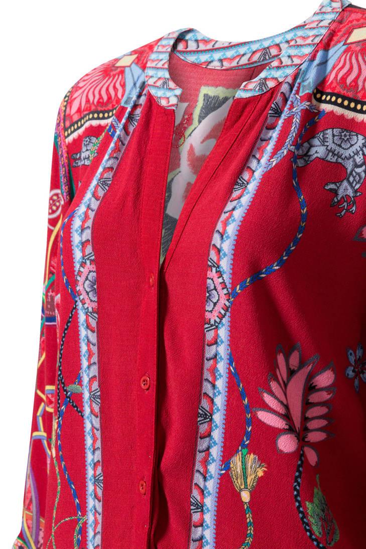 gebloemde Desigual Desigual gebloemde blouse gebloemde blouse Desigual blouse wHzqdRZ