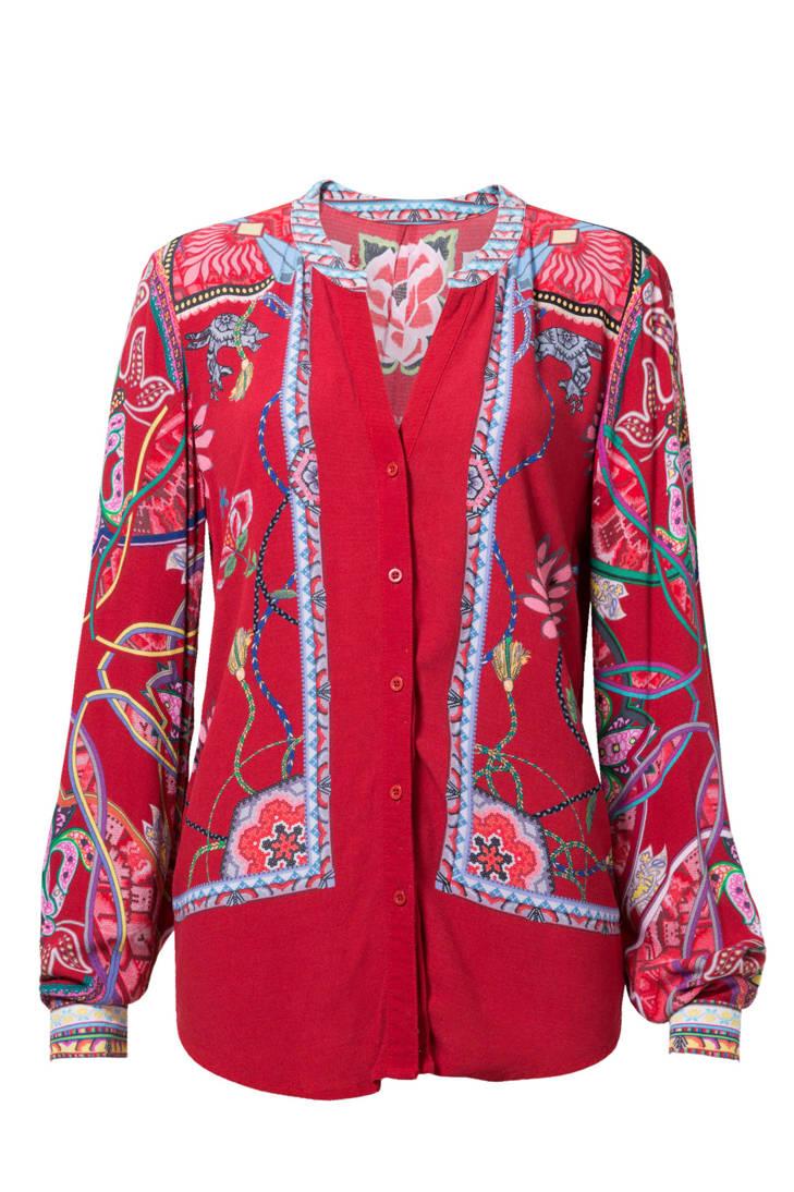blouse Desigual Desigual Desigual blouse gebloemde gebloemde 1gqP5dw7P
