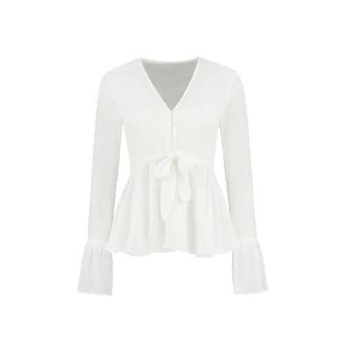 NIKKIE blouse Rana wit