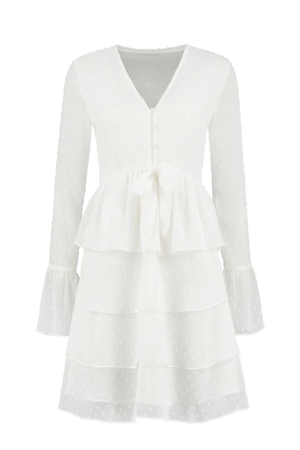NIKKIE jurk Rana wit, Wit
