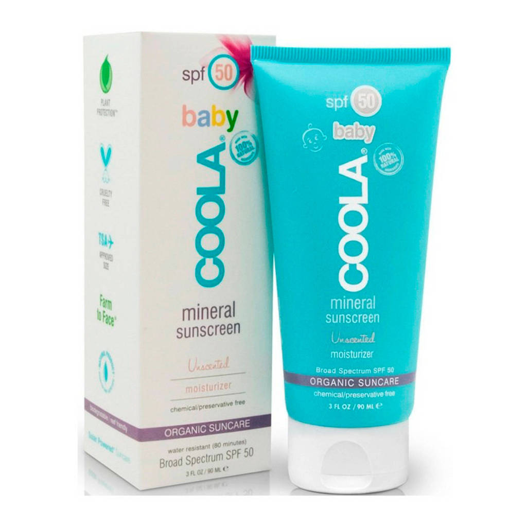 Coola Baby SPF50 Unscented Moisturizer zonnebrand - 90 ml