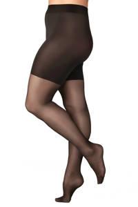 FALKE panty 20 denier +size zwart, Zwart