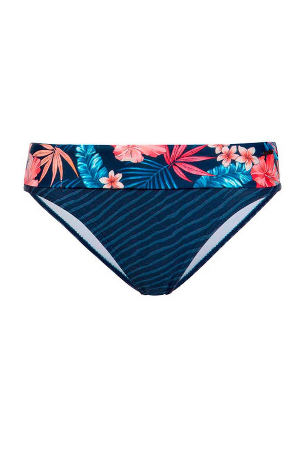 Protest omslag bikinibroekje met all-over print blauw, Blauw