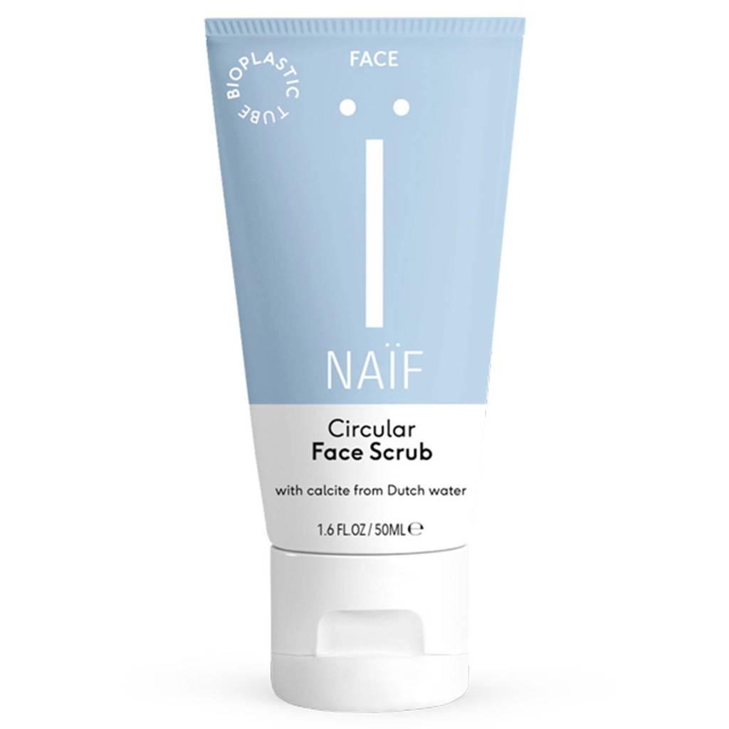 NAÏF Circulaire gezichtsscrub - 50 ml
