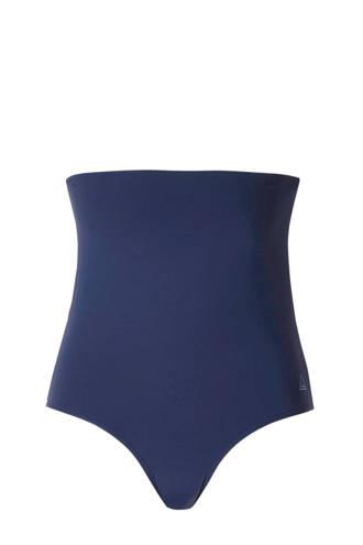Mix & Match bikinibroekje high waist blauw