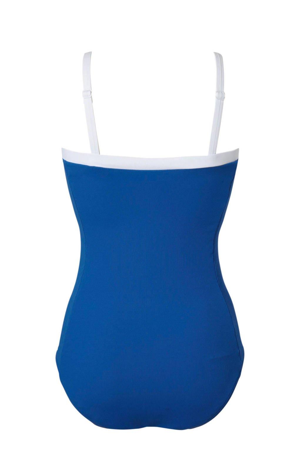 Corrigerend Blauw Met Badpak Twekastrapless Softcups dfxpXXwA