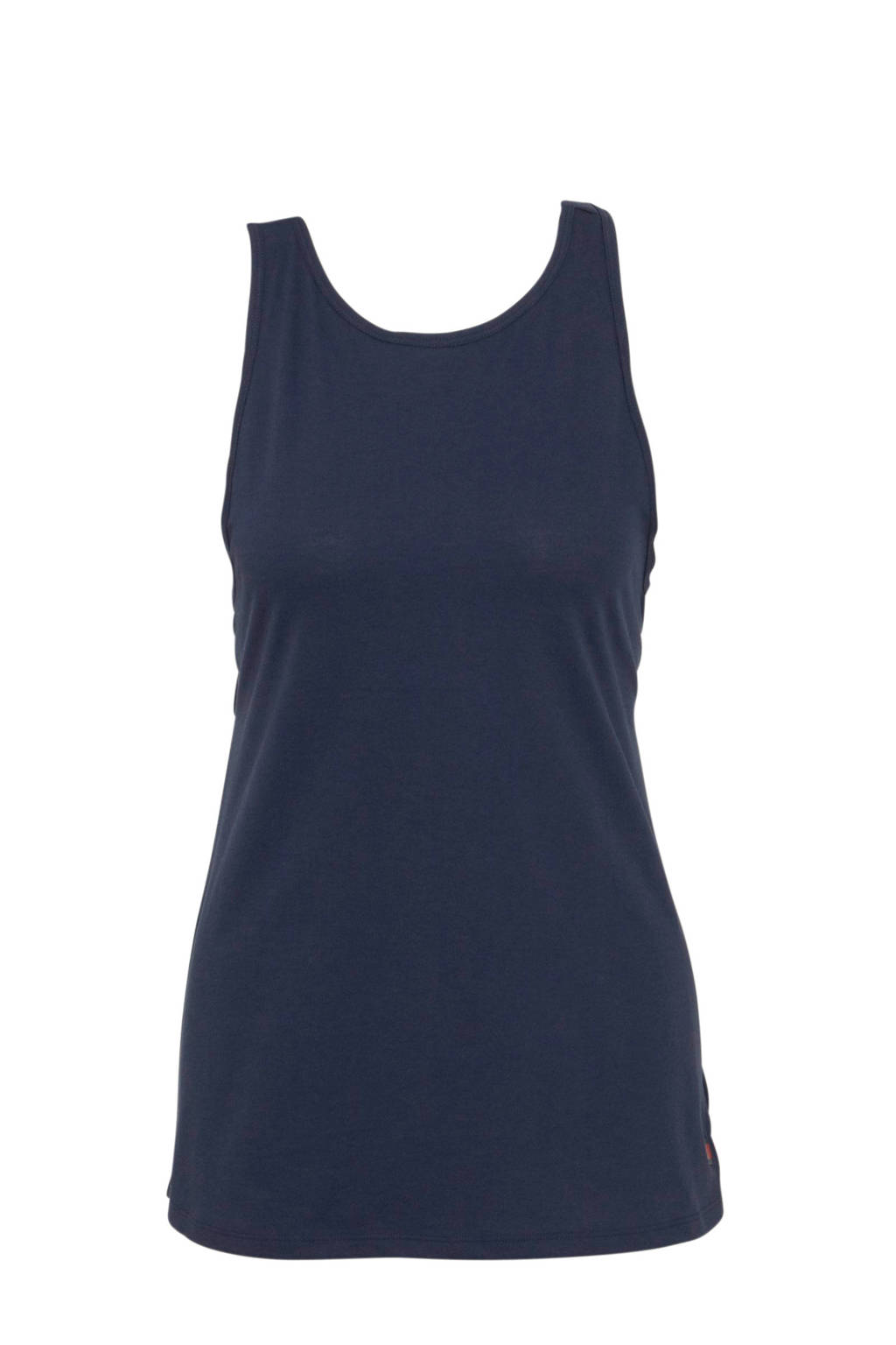 Tommy Sport tanktop donkerblauw/rood//wit, Donkerblauw/rood/wit